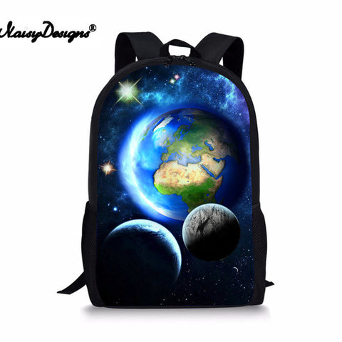 4e09ead9be98 Boys bookbag trendy School Bag Children Backpack for Boys Girls Galaxy  Space Backpacks Kids Baby's Bags Child Rucksack Teenager 2018 AT_51_3