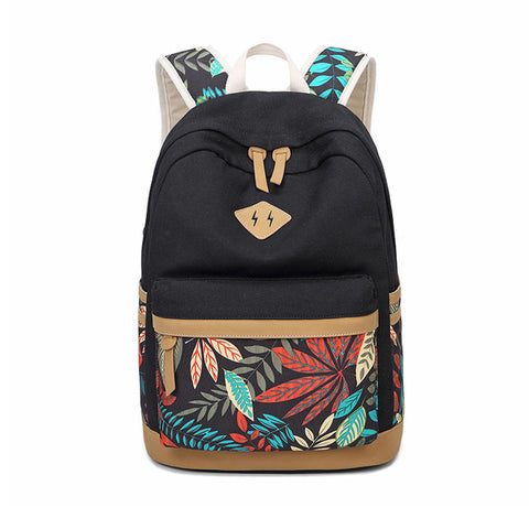6d58fc79199 School bags For Teenager Girls Multifunction Women Backpack Printing Backpack  Fashion Youth Korean Style Shoulder Bag