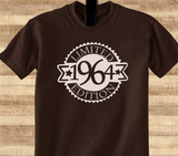 Vintage since All Original parts Limited Edition 1959 66 67 68 69 70 year old birithday Tshirt Tee T-Shirt - Animetee - 1