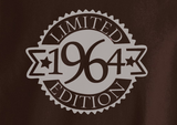 Vintage since All Original parts Limited Edition 1959 66 67 68 69 70 year old birithday Tshirt Tee T-Shirt - Animetee - 2