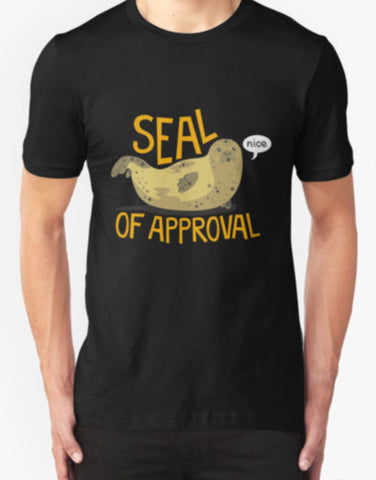 Seal Of Approval T-Shirt - Animetee