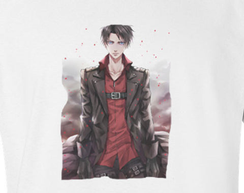 Premium Shingeki No Kyojin Attack of Titans Levi Tee T-Shirt - Animetee - 1