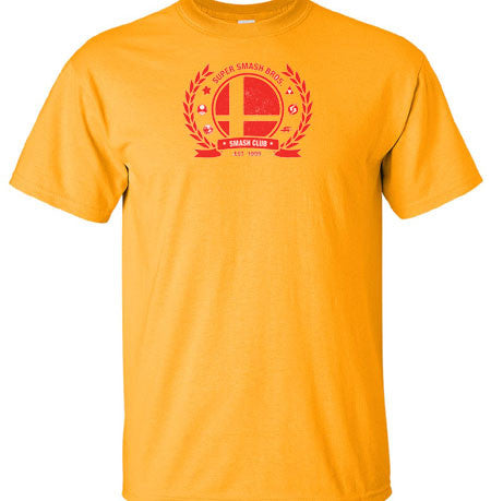Super Smash Bros Brothers Logo Seal T-Shirt - Animetee - 1