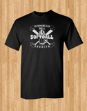 Trendy Pop Culture My drinking team has a softball problem problemTee T-Shirt Ladies Youth Unisex - Animetee - 1