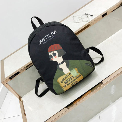 South Korea INS student backpack handsome street snap Japanese harajuku wind soft sister backpack ulzzang girls school bag Shop3893024 Store 1
