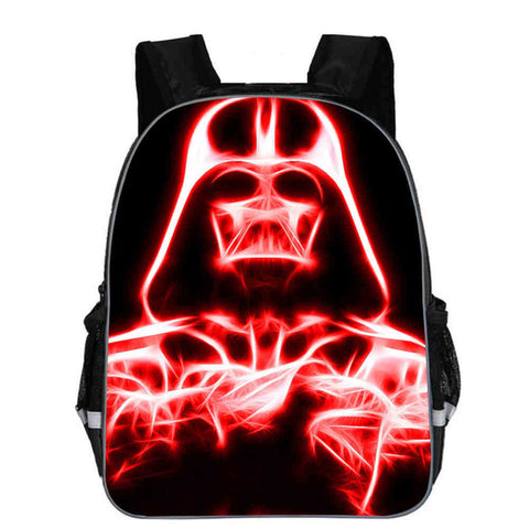 243af635033b Star wars Backpack Kylo Ren Rey Darth Vader Yoda Jedi Anime Casual School  Bags Toddler Boys