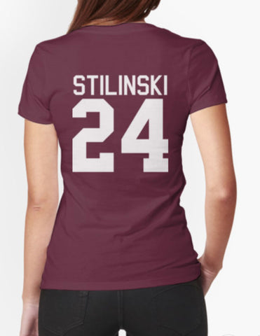 Stiles Stilinski's Jersey - white text Beacon Hills Lacross Unisex Adult T-Shirt Tee Shirt - Animetee
