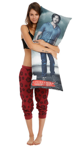 Officially Licensed Supernatural Sam & Dean Body Pillow - Animetee