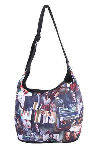 Officially Licensed Supernatural Photo Collage Hobo Bag - Animetee