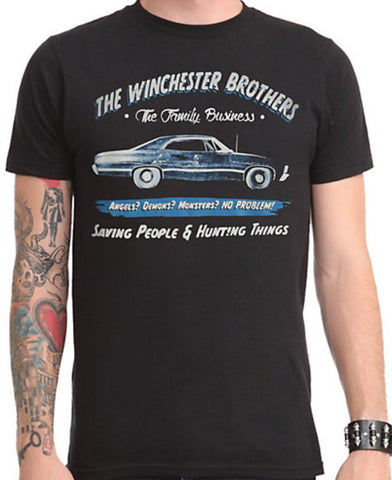 Officially Licensed  Supernatural Business Ad Licensed NEW - Animetee