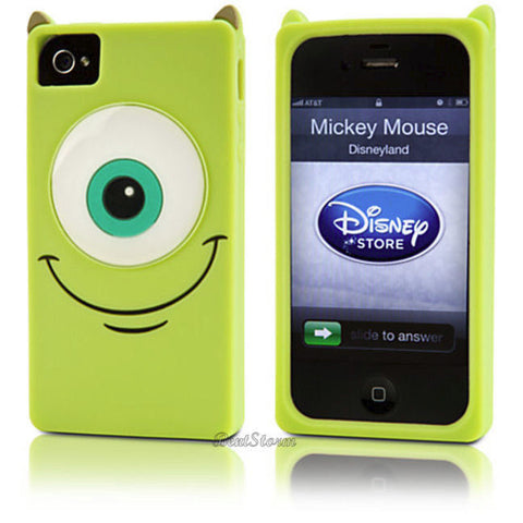 new concept 79093 85fb9 Licensed cool NEW Disney Store EXC. Monsters Inc MIKE University iPhone  4/4S Phone Case Cover