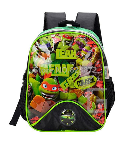 99a8a691e70 Teenage Mutant Ninja Turtles Children School Bags Kindergarten Preschool  Backpacks for Boys School Backpacks Kids Bag