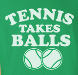 Trendy Pop Culture Tennis takes balls usta french open wimbledon nadal federer djokovic birthday Tee T-Shirt Ladies Youth Unisex - Animetee - 2
