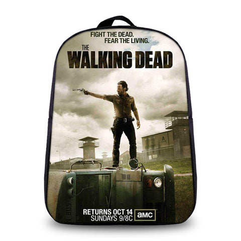 01368ade17 ... The Walking Dead Fashion Backpack Daryl Women Saviors Men Travel Bags  Boys School Daily Bags Bookbag ...