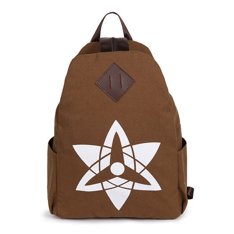 The new cartoon around the Anime Naruto cosplay backpack fashion men and women canvas leisure backpack Hangzhou Manxia Backpack Store 1