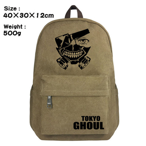 Totoro No Face Man Japan Anime Backpack Schoolbag Satchel Canvas Shoulder Laptop Bags For Fans Gift Double Zipper Mochila 1215 1