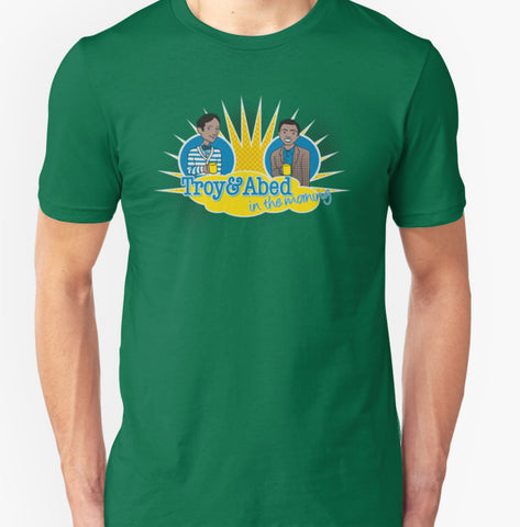 Troy and Abed T-Shirt - Animetee
