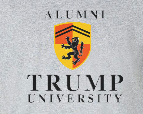 Donald Trump University Alumni Crest Logo Tee T-shirt - Animetee - 1