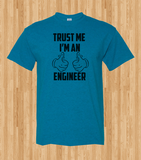 Trendy Pop Culture Trust me I'm an engineer Computer electrical software Tshirt Tee T-Shirt Ladies Youth Adult Unisex - Animetee - 1