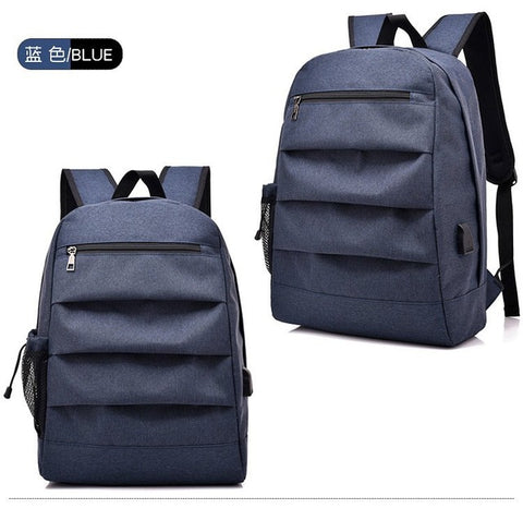 8c4bf0d27630 Boys Backpack Bag USB Charging Canvas schoolbag for men teen girls school  bags male rucksack women Back pack 2018 AT_61_4