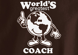 Pop Culture Trendy World's greatest coach Football Basketball Baseball soccer wrestling Tshirt Tee T-Shirt Ladies Youth Adult Unisex - Animetee - 2