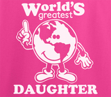 Pop Culture Trendy World's Greatest Daughter Tshirt Tee T-Shirt Ladies Youth Adult Unisex - Animetee - 2