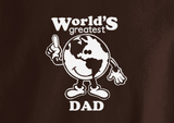 Pop Culture Trendy World's Greatest Dad Tshirt Tee T-Shirt Ladies Youth Adult Unisex - Animetee - 2