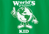 Trendy Pop Culture World's Greatest Kid Child Student of the month Birthday Tee T-Shirt Ladies Youth Adult Unisex - Animetee - 2