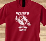 Trendy Pop Culture Worlds Greatest Son Over achiever student of the month kid Tee T-Shirt Ladies Youth Unisex - Animetee - 1