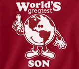 Trendy Pop Culture Worlds Greatest Son Over achiever student of the month kid Tee T-Shirt Ladies Youth Unisex - Animetee - 2