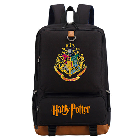 WISHOT Harry Potter School Bags Book Backpacks Children Bag Fashion Shoulder Bag Students Backpack Travel Bag for teenagers High Quality Backpack Store 1