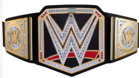 Officially Licensed WWE World Championship Belt by Mattel Bring home the officially - Animetee