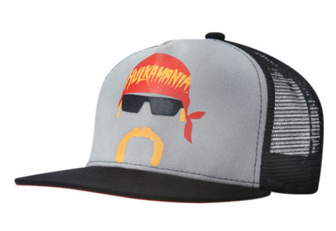 Officially Licensed Hulk Hogan Hulkamania Cartoon WWE Licensed Baseball Cap Hat - Animetee