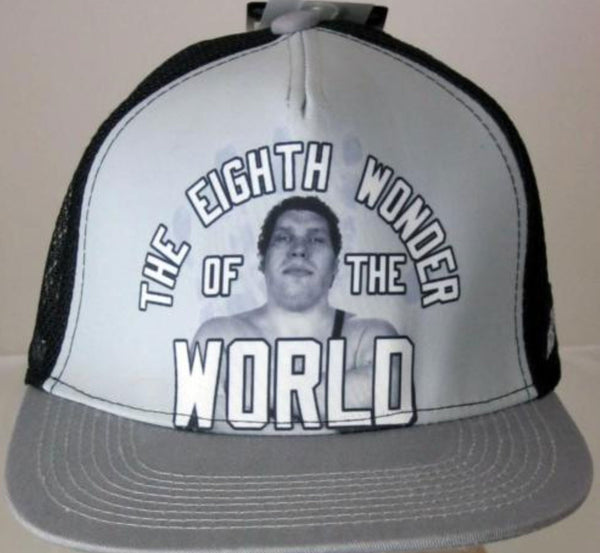 4f7001f213c Officially Licensed WWE Legends Andre the Giant Snapback Trucker Hat R –  2018 AT 142 30 (Animetee.com Friends)