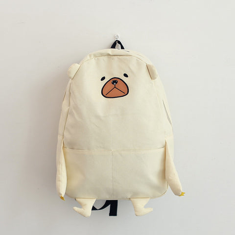 Women Backpack New Japanese Foreign Trade Creative Animals Cute Bear Backpack Women College Student Backpack nbxq142 Mo Zhanna Store 1