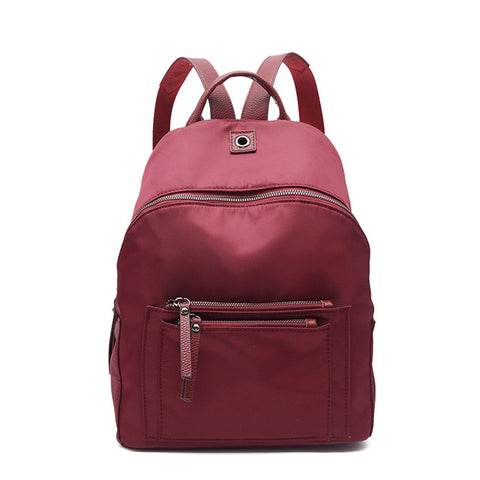 cb729cb7f51 ... Women Backpack Nylon Casual College Bookbag Female Retro Stylish Daily  Travel Bags for School Teenage Girls ...