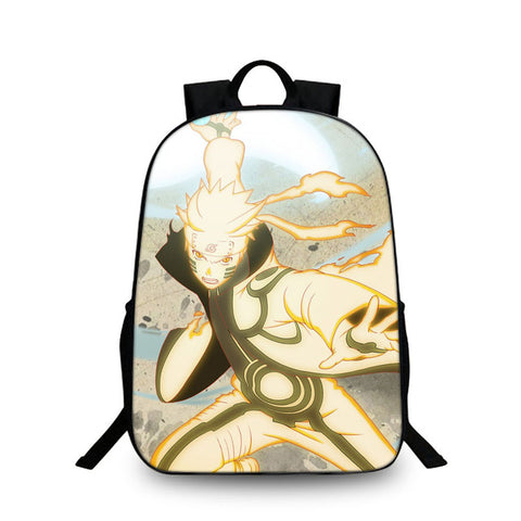 Women Men Anime Naruto Ninja Uzumaki Naruto School Backpack Rucksack Mochila Schoolbag Bag For School Boys Girls Student Travel YiZu Fashion Store 1