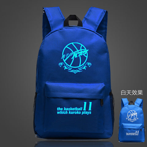 Womens Mens Cool Luminous Laptop Backpack School Backpack Teens Boys Girls Anime Kuroko no Basket School Book Bag Shop3126025 Store 2