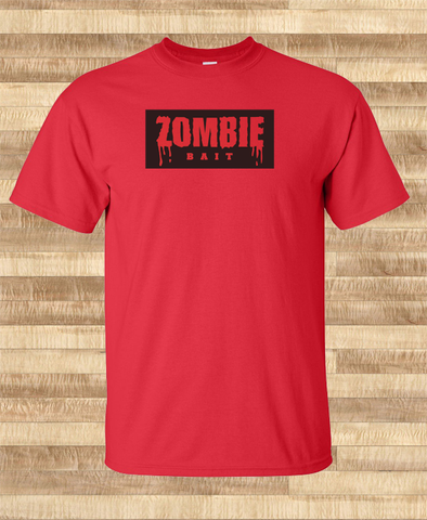 Trendy Pop Culture Funny Resident Evil Zombie Bait apocalypse walking dead tshirt Ladies Youth Unisex - Animetee - 1