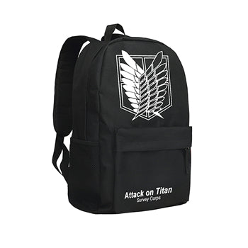 Zshop Cool Backpacks for Teenage Boys Attack on Titan Japan Anime School Bags Eren Jaeger Bookbags High School Students Zshop Store 1