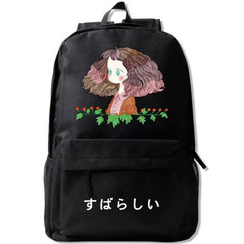 Zshop Japan Style Cartoon Girl Backpack Daughter Birthday Gifts School Bookbag Zshop Store 1