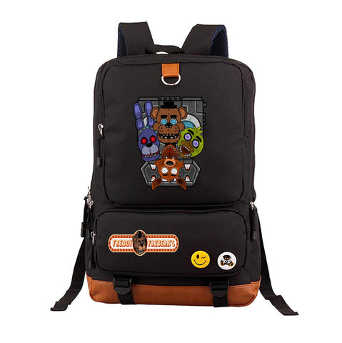 anime Five Nights at Freddy's Backpack teenagers Student School Bags book bag travel Shoulder Laptop Bag Unisex Travel Knapsack COS BAG MADE Store 1