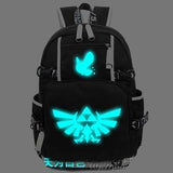 anime The legend of zelda Backpack Cosplay Fashion Canvas Bag Luminous Schoolbag Travel Bags packsack COSPLAY81888 Store 1