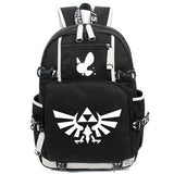 anime The legend of zelda Backpack Cosplay Fashion Canvas Bag Luminous Schoolbag Travel Bags packsack COSPLAY81888 Store 2