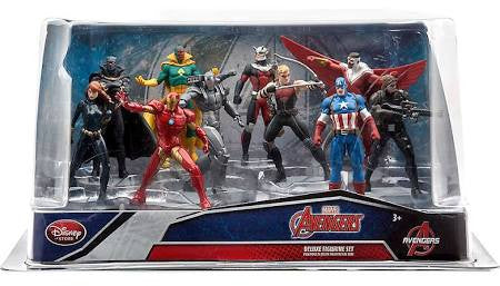 Officially Licensed Disney Captain America: Civil War 10 Piece PVC Figure Set Marvel Avengers - Animetee