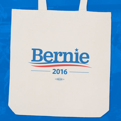 Officially Licensed Bernie Sanders 2016 Tote Bag - Animetee