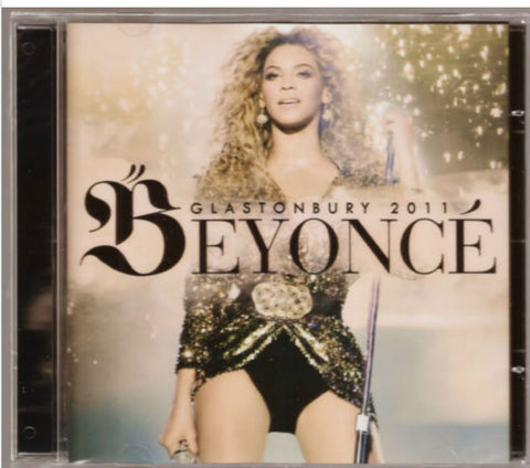 Officially Licensed Beyonce CD Glastonbury 2011 New Sealed - Animetee