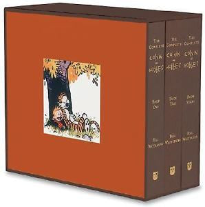 Officially Licensed The Complete Calvin and Hobbes by Bill Watterson (2005, Hardcover) - Animetee