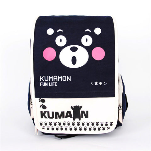 canvas Backpack women japanese School Bags Children Schoolbag for teenage  girls Cartoon School Backpacks Shoulder mochila 0220f74392394