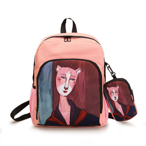 6336c40f0772 cool kawaii shoulder bag harajuku backbag girls backpack woman back pack  anime backpacks and school bags